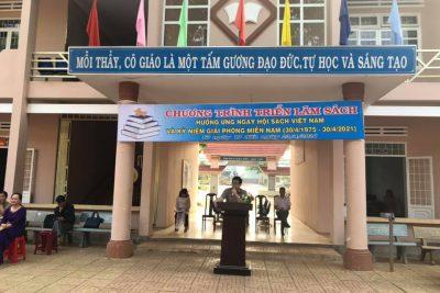 Trường THPT Việt Đức với tuần lễ sách năm 2021