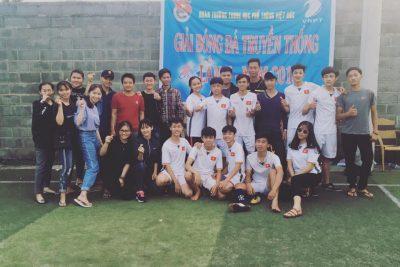 Đoàn trường tổ chức giải bóng đá nam truyền thống lần thứ II, năm 2018