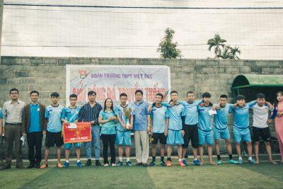 [Đoàn trường]Bế mạc giải bóng đá truyền thống lần thứ 3, năm học 2018-2019