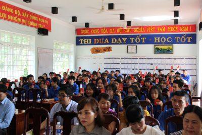Đại hội Đại biểu Đoàn trường THPT Việt Đức, nhiệm kỳ 2020-2021
