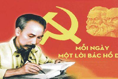 Nâng cao chất lượng học tập và làm theo tấm gương đạo đức Hồ Chí Minh, trong giai đoạn 2015-2020