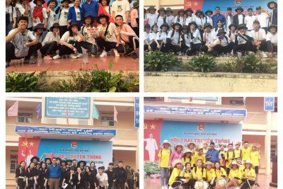 [Đoàn trường] Hội trại truyền thống chào mừng 88 năm ngày thành lập Đoàn TNCS Hồ Chí Minh